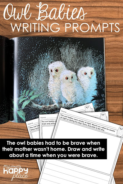 Owl Babies Writing Prompts