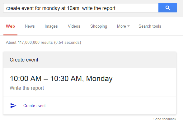 Google All Your Create Google Calendar Events In Google Search