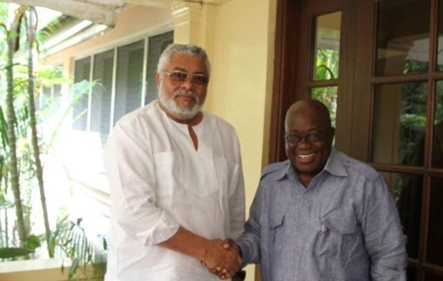 Akufo-Addo Inherited National Corruption At Its Worst – Rawlings