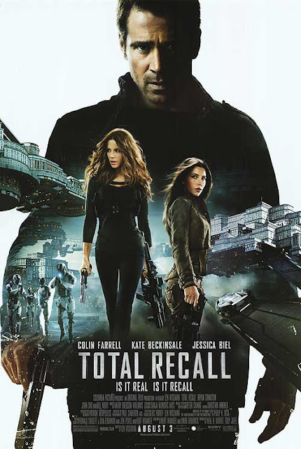 Total Recall (2012) film poster
