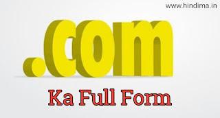 .com ka full form
