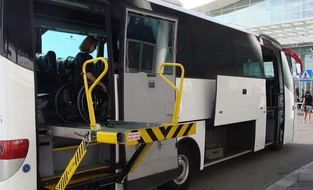 Acessibilidade em transportes para deficientes físicos em Roma