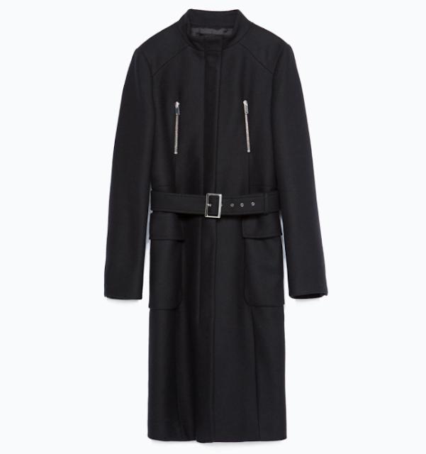 Fondo de armario rebajas FW 2015-2016 abrigo negro