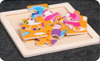 Kinder puzzeln ea-onlineshop.de Holzpuzzle Puzzle Kids