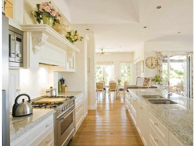 Country Galley Kitchen Ideas Home Interior Exterior Decor Design Ideas