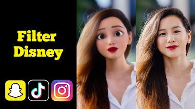 Filter Disney Instagram ig tiktok snapchat