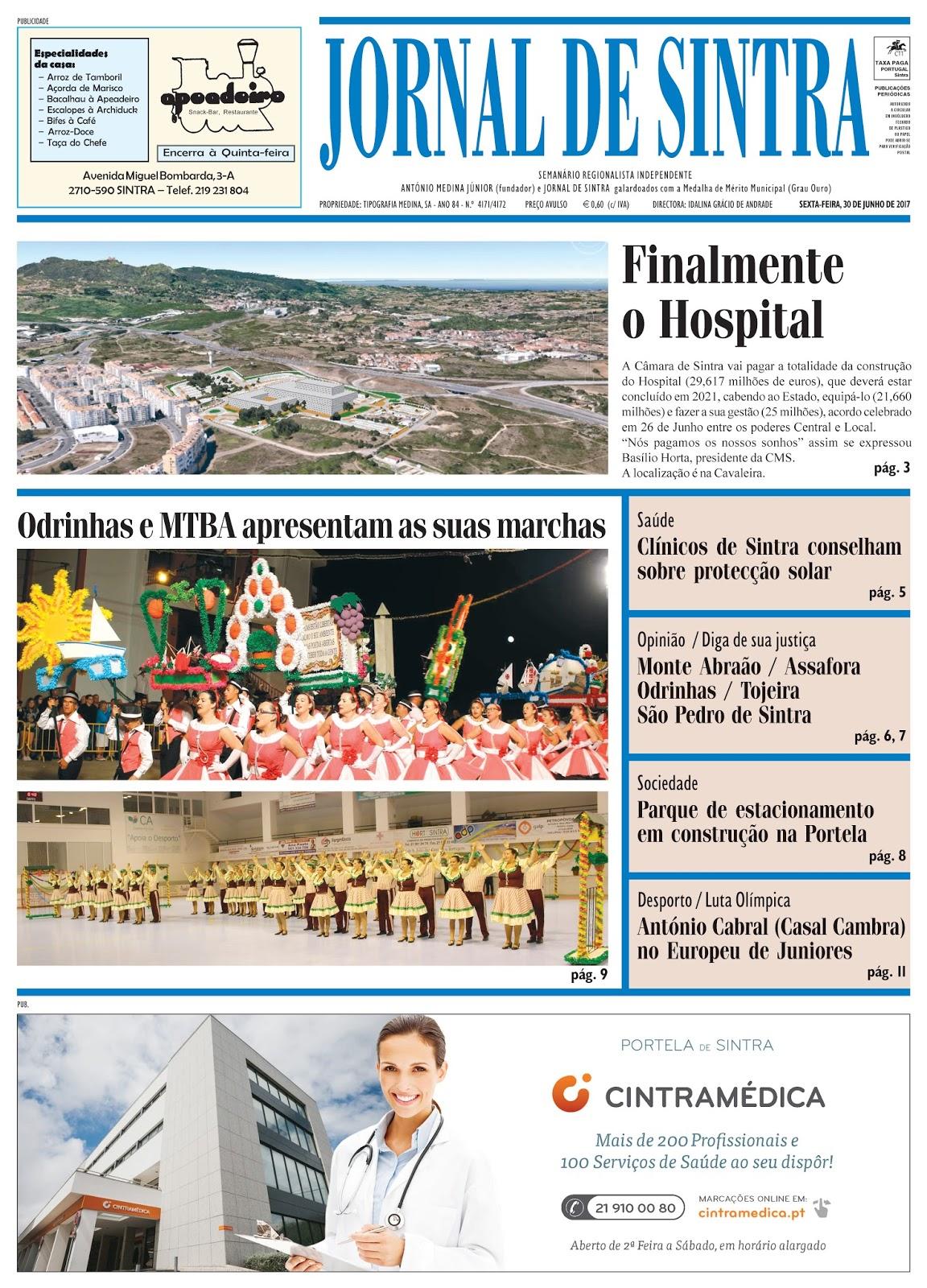 Capa da edição de 30-06-2017