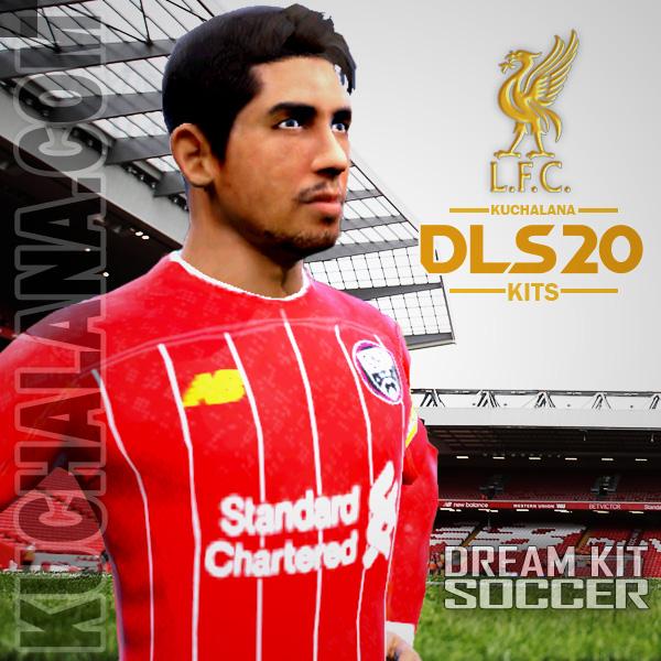 Liverpool FC Kits 2019/20 -  DLS20 Kits