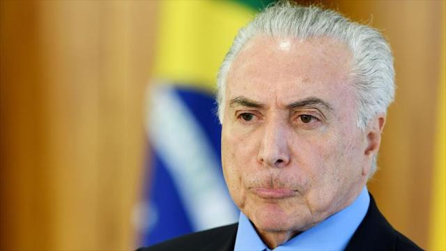 Temer admite que podrá ser candidato a la reelección en Brasil