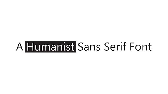 humanist-sans-serif-font