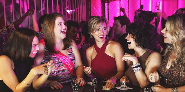 Scarlett Johansson Kate McKinnon Jillian Bell Ilana Glazer Zoë Kravitz Lucia Aniello | Rough Night