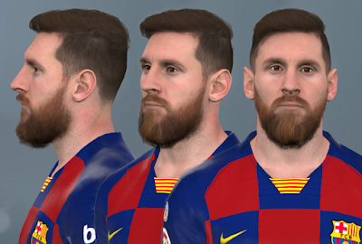 PES 2017 Faces Lionel Messi by WER