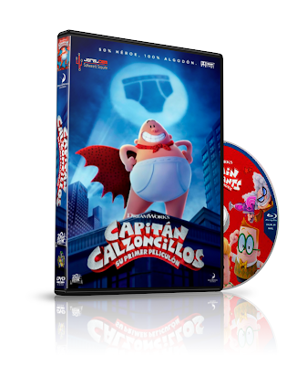 Captain Underpants: The First Epic Movie (2017) Hd-Mp4-1080p-Español y Ingles