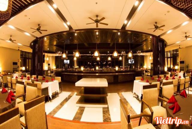 Nhà hàng rất rộng và lịch sự - vietsovpetro ho tram