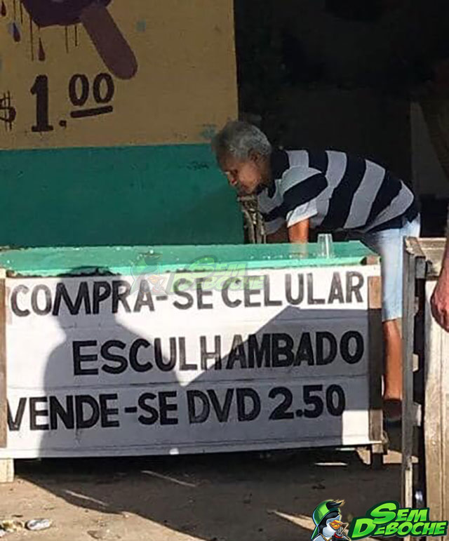 CELULAR ESCULHAMBADO