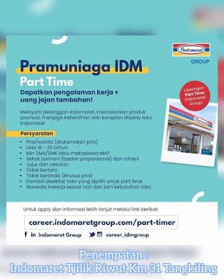 Lowongan Kerja Indomaret Kalimantan Tengah Palangka Raya Januari 2021 Karer Id