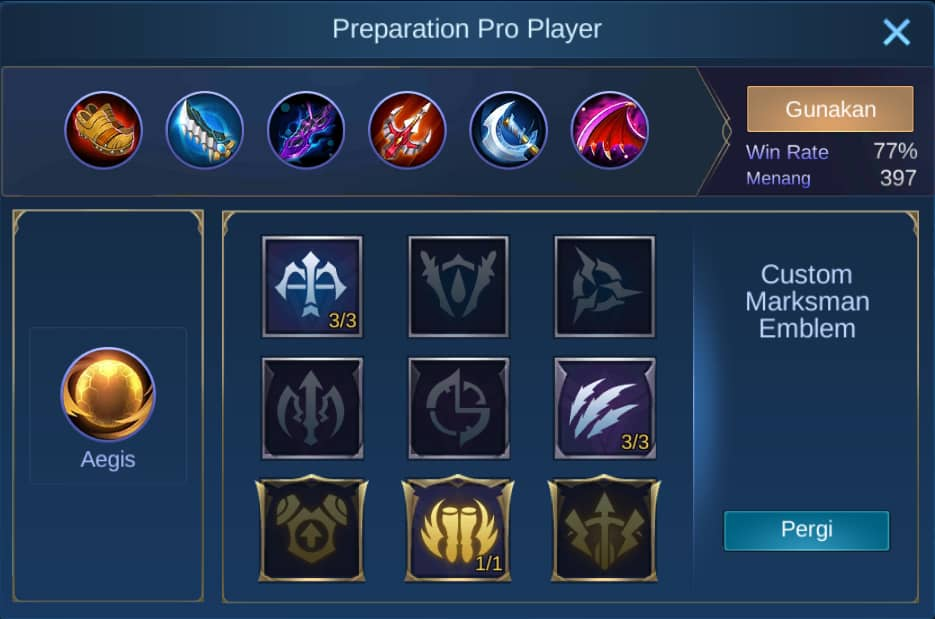 build item moskov mobile legends (ML)