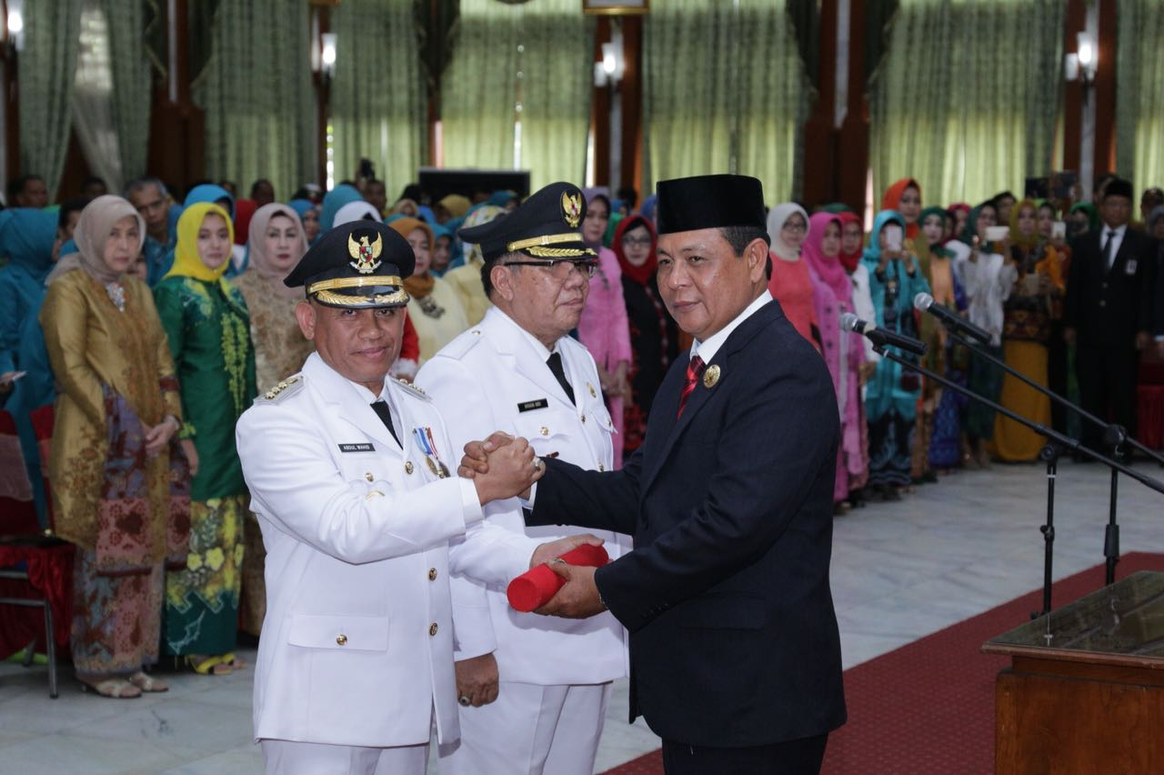 Gubernur Pinta Bupati – Wakil Bupati Turun Ke Lapangan
