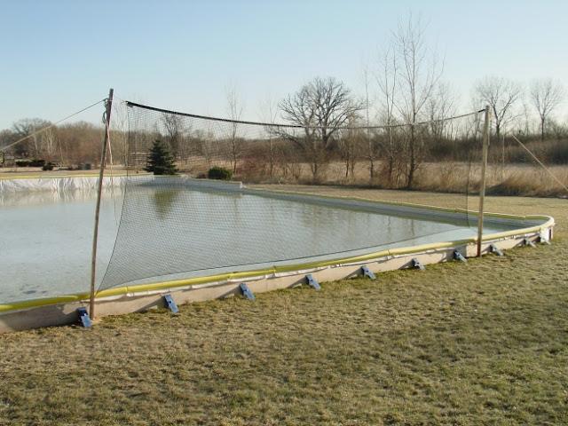Amazing Backyard Hockey Rink Boards · Backyard Hockey Rink Boards