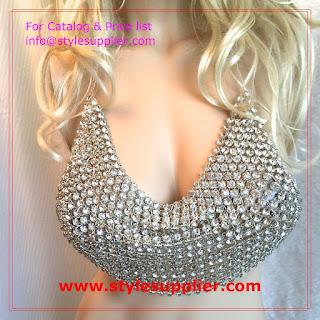 diamond bra