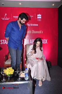 Aiswarya Rajinikanth Dhanush Standing on an Apple Box Launch Stills in Hyderabad  0014.jpg