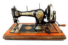 Hand sew machine