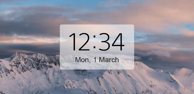 تنزيل Digital Clock and Weather Widget  ساعة رقمية ودجت الطقس للاندرويد