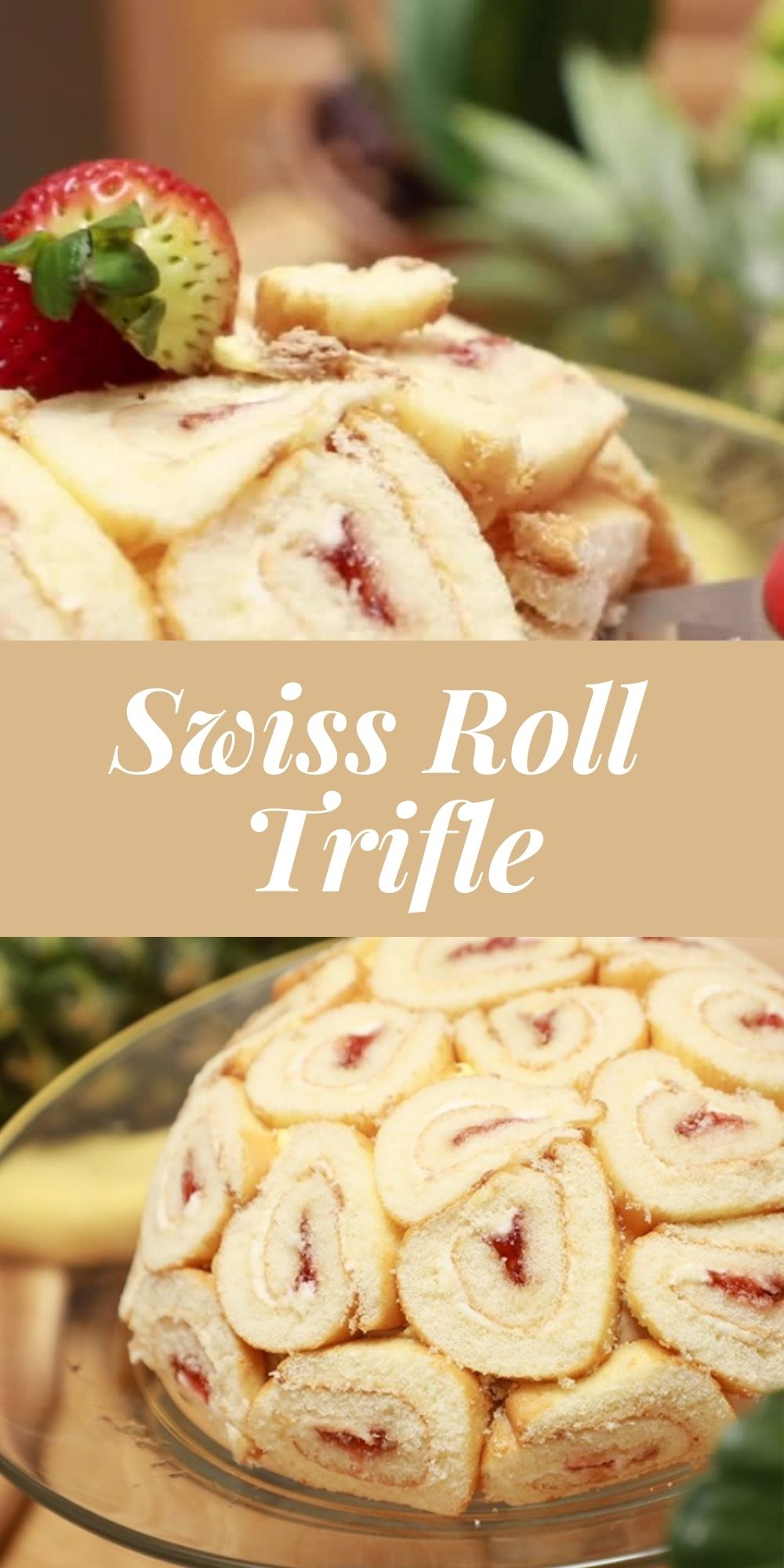 Swiss Roll Trifle