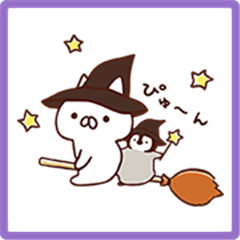 Penguin and Cat Days' Autumn Stickers