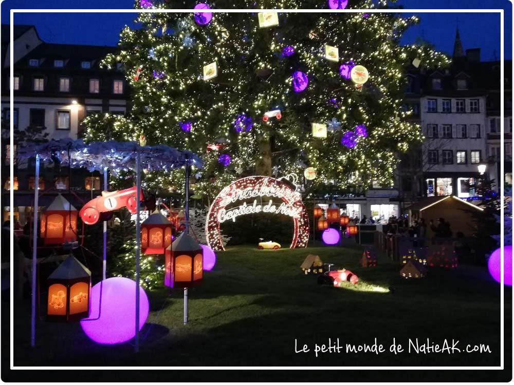 illumination sapin strasbourg 2019