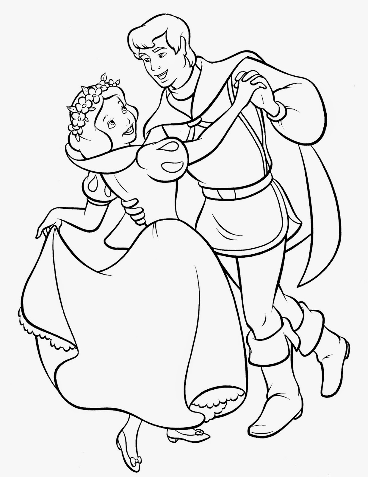 snpw white coloring pages   FUN & LEARN : Free worksheets for kid: ภาพระบายสี สโนว์ ...