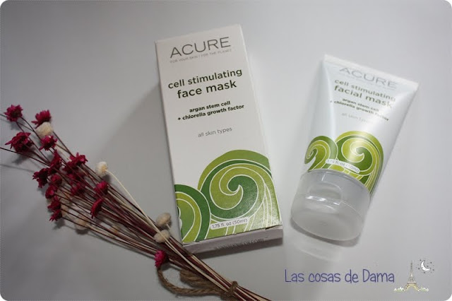 Cell Stimulating Facial Mask Acure Organics