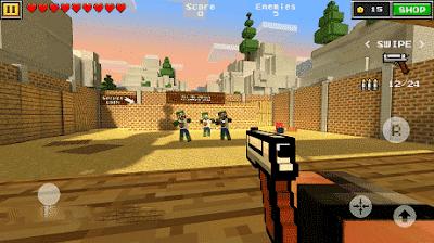 Pixel Gun 3D Mod Apk Unlimited Money