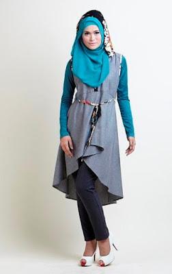 Desain Modern Baju Muslim Remaja Terbaru