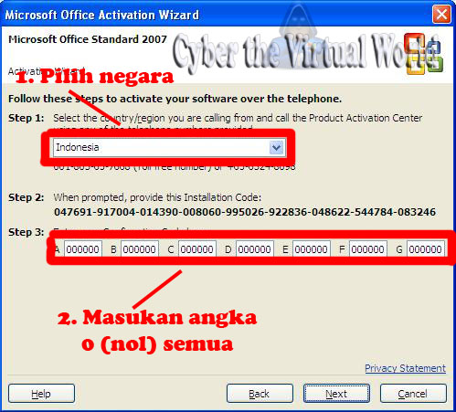 office 2007 activation hack