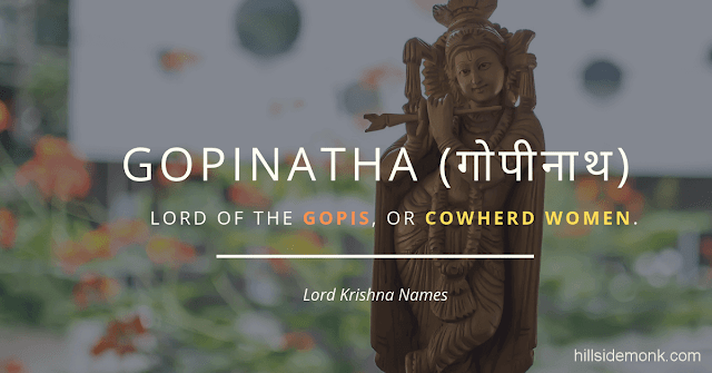 Lord Krishna Names With Meaning 21