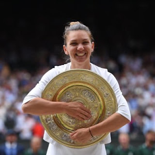 Simona Halep wins Wimbledon Women's Final 2019