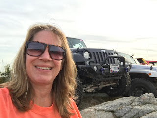 Experienced offroader in my Jeep at Rausch Creek
