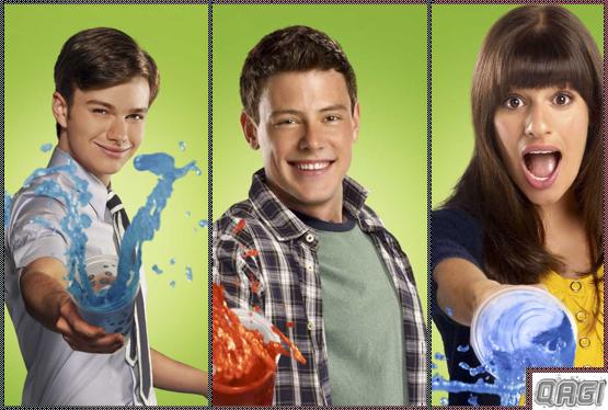 Lea Michele, Monteith e Chris Colfer fora de Glee