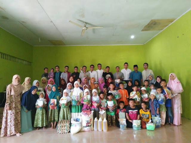 Kalium Fakultas Kedokteran USU Adakan Acara Ceria Ramadhan di Panti Asuhan Alwasliyah