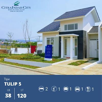 Rumah Tulip 38 120 Citra Indah City