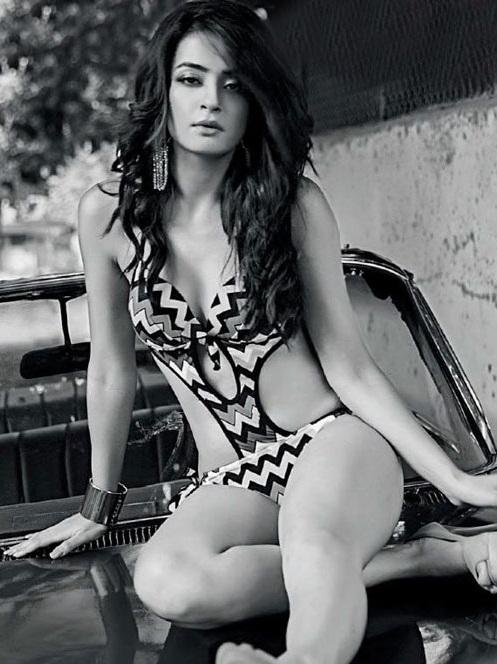 Surveen Chawla Bikini Images