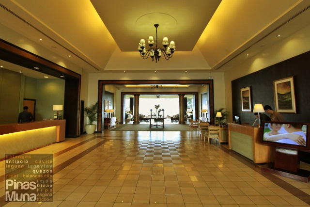 Main Lobby of Taal Vista Hotel