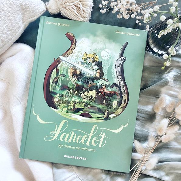 Bd jeunesse : Lancelot - La pierre de mémoire