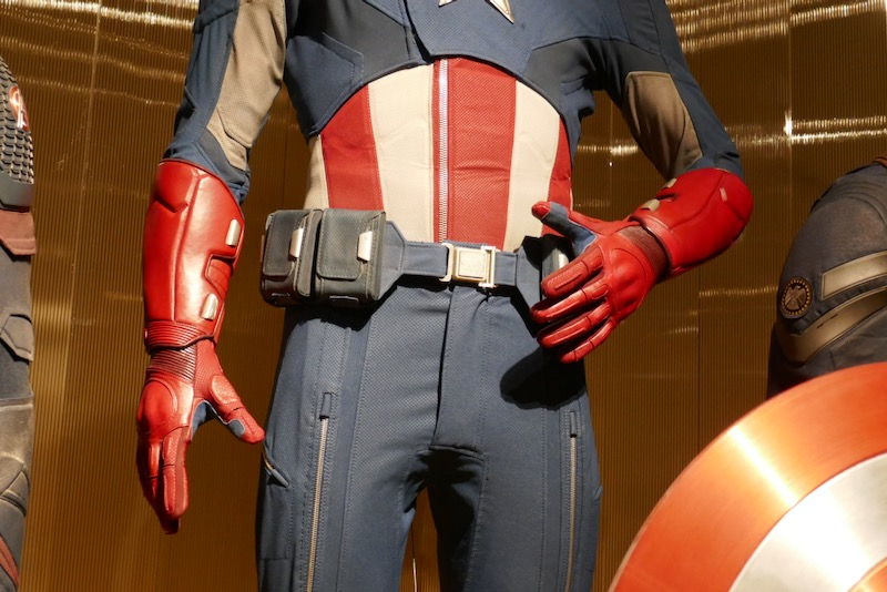 Captain America costume detail Avengers