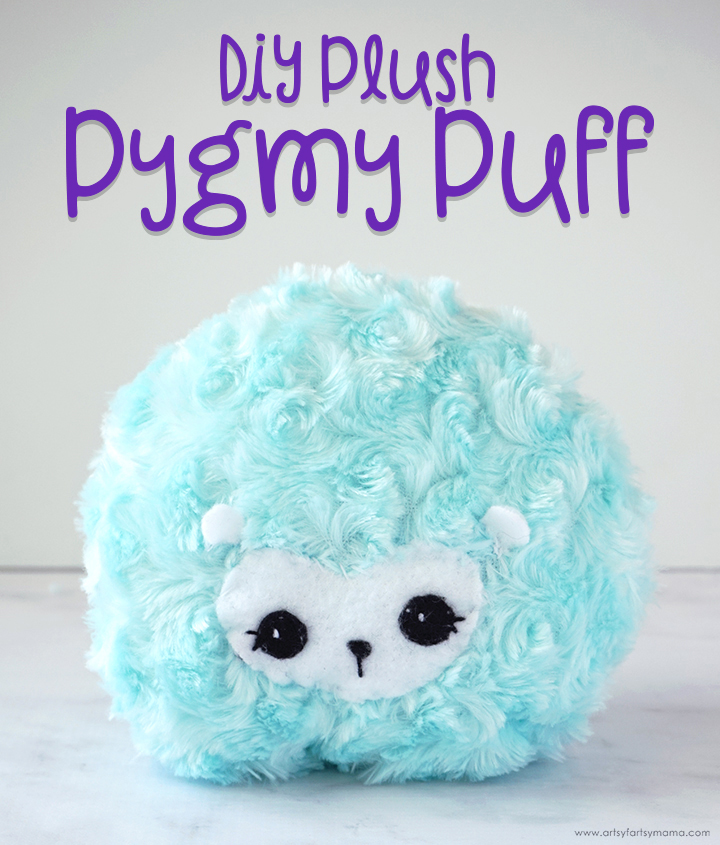 DIY Harry Potter Pygmy Puff Plush