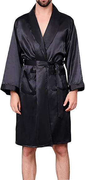 Elegant Satin Robes For Men