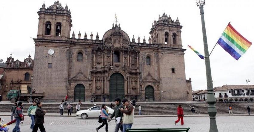Habría muro ceremonial inca en la base del atrio de la Catedral de Cusco, informó la Dirección Desconcentrada de Cultura - DDCC