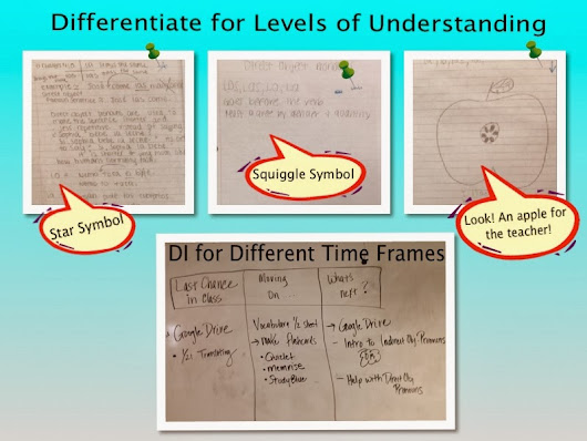 Simple Ways to Differentiate Instruction