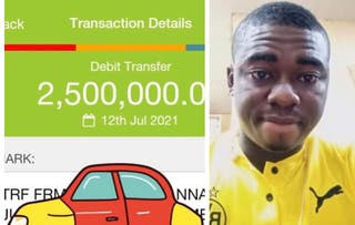 Man returns N2.5m mistakenly paid into his account
